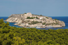 Wyspa St Nicholas Italy Fotografia Royalty Free