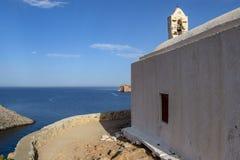Wyspa Syros Obrazy Royalty Free