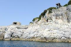 Wyspa Tino blisko Portovenere Zdjęcia Royalty Free