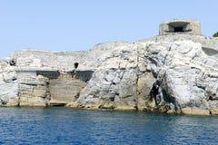 Wyspa Tino blisko Portovenere Zdjęcie Royalty Free