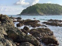 wyspa tristana fotografia stock