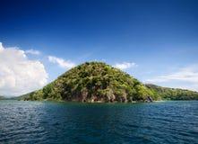 wyspa tropikalna Zdjęcia Royalty Free