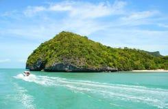 wyspa tropikalna Fotografia Royalty Free