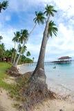 Wyspa tropikalny wjazd fotografia stock