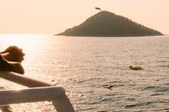 Wyspa turysty miejsce przeznaczenia Fotografia Stock
