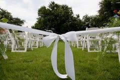 wyspa uciekiniera otwartym tasiemkowy ślub Fotografia Stock
