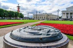 wyspa vasilievsky Fotografia Royalty Free
