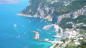 wyspa Włochy capri zbiory wideo