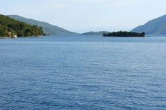 Wyspa w Ionian morzu Obraz Royalty Free