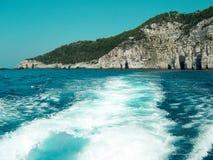 Wyspa w Ionian morzu, Grecja Fotografia Royalty Free
