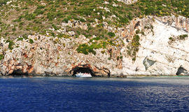 Wyspa w Ionian morzu, Zakynthos Obraz Stock