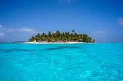 Wyspa w Karaiby Fotografia Stock