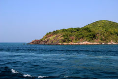 Wyspa w morzu Zdjęcie Royalty Free