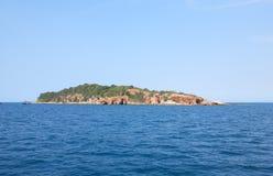 Wyspa w morzu Obraz Royalty Free