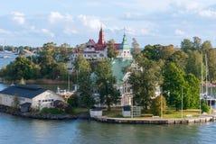 Wyspa w morzu bałtyckim. Fotografia Stock