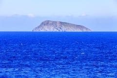 Wyspa w morzu crete Grecja Obrazy Stock