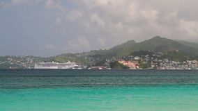 Wyspa w morzu karaibskim St George ` s, Grenada zbiory wideo