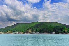 Wyspa w morzu w Thailand Obrazy Stock