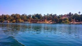 Wyspa w Nile rzece Obrazy Stock