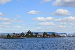 Wyspa w północy Fotografia Royalty Free