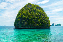 Wyspa w phi zdjęcia stock