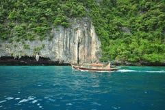Wyspa w Tajlandia Krabi czyste plaże obraz royalty free