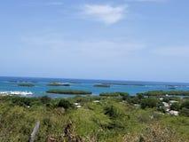 Wyspa widok Obraz Stock