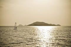 wyspa windsurf Zdjęcia Stock
