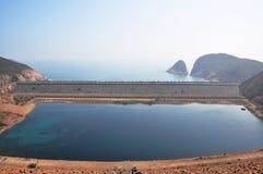 wyspa wysoki rezerwuar obraz royalty free