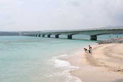 wyspa yagaji bridge Obraz Stock