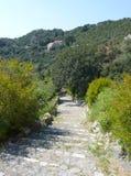wyspy chorwacki nożna ścieżka Zdjęcie Royalty Free