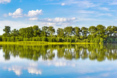 wyspy duńskiej jezior krajobrazowej charakteru Wadden mały przypływu morza wilder wody Zdjęcia Stock