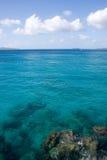wyspy dziewica karaibskiej wody obraz royalty free