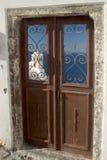 wyspy greckie santorini scena typowa Fotografia Royalty Free
