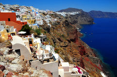 wyspy greece santorini Obrazy Royalty Free