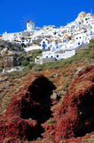 wyspy greece santorini Obraz Stock