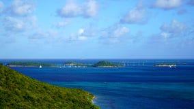Wyspy Grendines zdjęcie stock