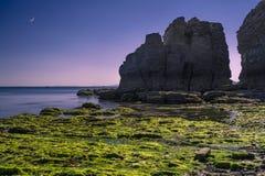 Wyspy i księżyc Zdjęcie Stock