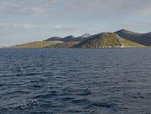 Wyspy i morze Zdjęcia Stock