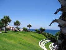 wyspy kallithea Rhodes zdjęcie stock