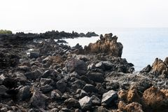 Wyspy Kanaryjska Seascape obrazy stock