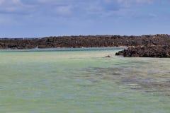 Wyspy Kanaryjskiej morze fotografia stock