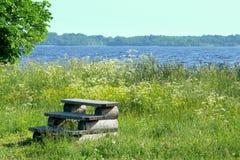 wyspy kizhi Onega nieba jeziorny schody Zdjęcia Royalty Free