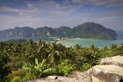 wyspy koh phi Thailand obraz stock