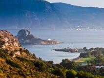 wyspy kos krajobraz Fotografia Royalty Free