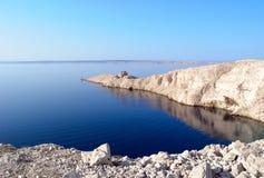 wyspy latarni morskiej pag ruina Obraz Royalty Free