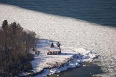wyspy latarni morskiej piasek Zdjęcia Stock