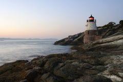 wyspy latarni morskiej rhode Zdjęcie Royalty Free