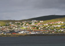 wyspy lerwick Shetland zdjęcie royalty free