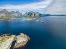 wyspy lofoten obrazy royalty free